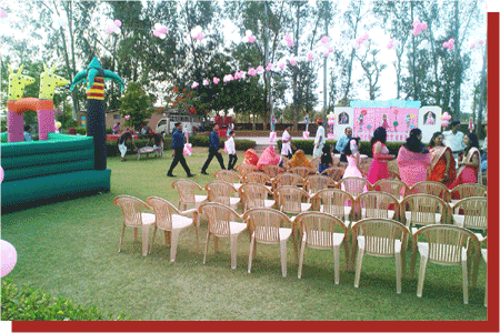kanchan kesari village resort jaipur birthday party theme decoration