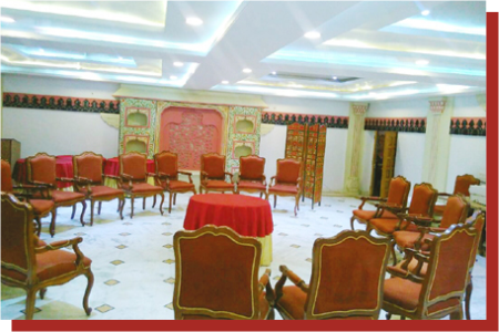 kanchan kesari village resort jaipur conference hall