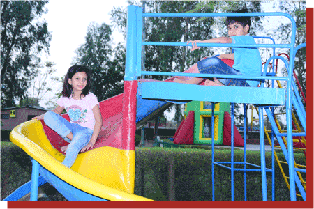 kanchan kesari village resort jaipur kids play area