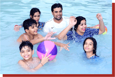kanchan kesari village resort jaipur family swimming pool
