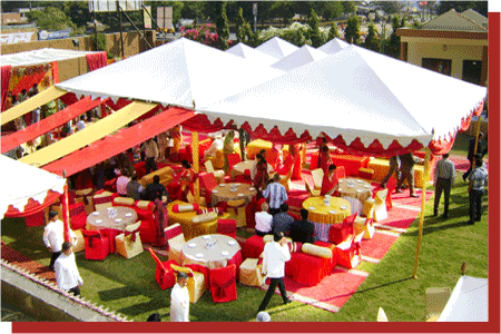kanchan kesari village resort jaipur birthday theme tent decoration